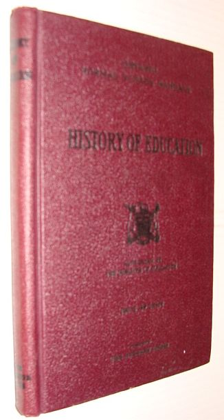 Image for History of Education - Ontario Normal School Manuals