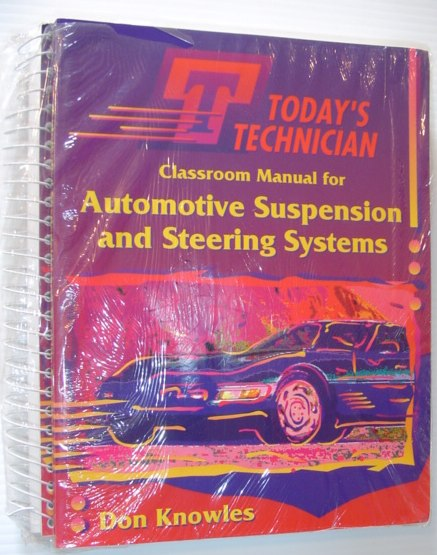 Image for Automotive Suspension and Steering Systems (Today's Technician Shop Manual)