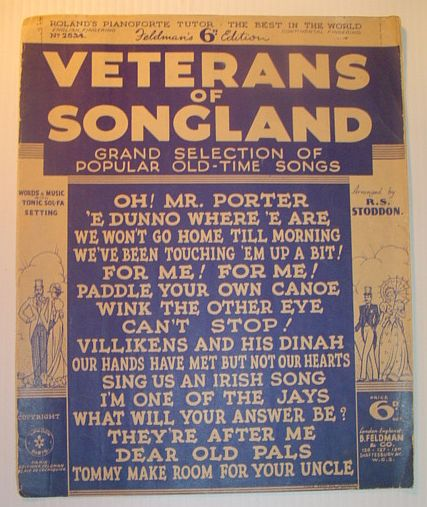 Image for Veterans of Songland: Grand Selection of Popular Old-Time Songs