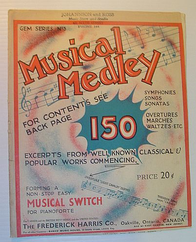 Image for Musical Medley - 150 Excerpts from Well-Known Classical and Popular Works  - Gem Series No. 5 (Five)