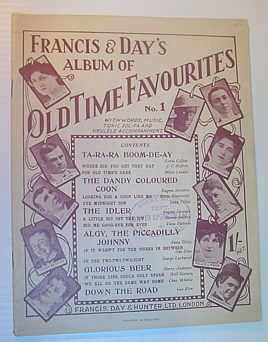 Image for Francis & Day's Album of Old Time Favourites, No. (Number) 1, with Words, Music, Tonic Sol-Fa and Ukulele Accompaniment