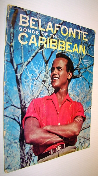 Image for Belafonte - Songs of the Caribbean (as Recorded on RCA Victor LPM-1505): Songbook with Sheet Music for Voice and Piano with Chords