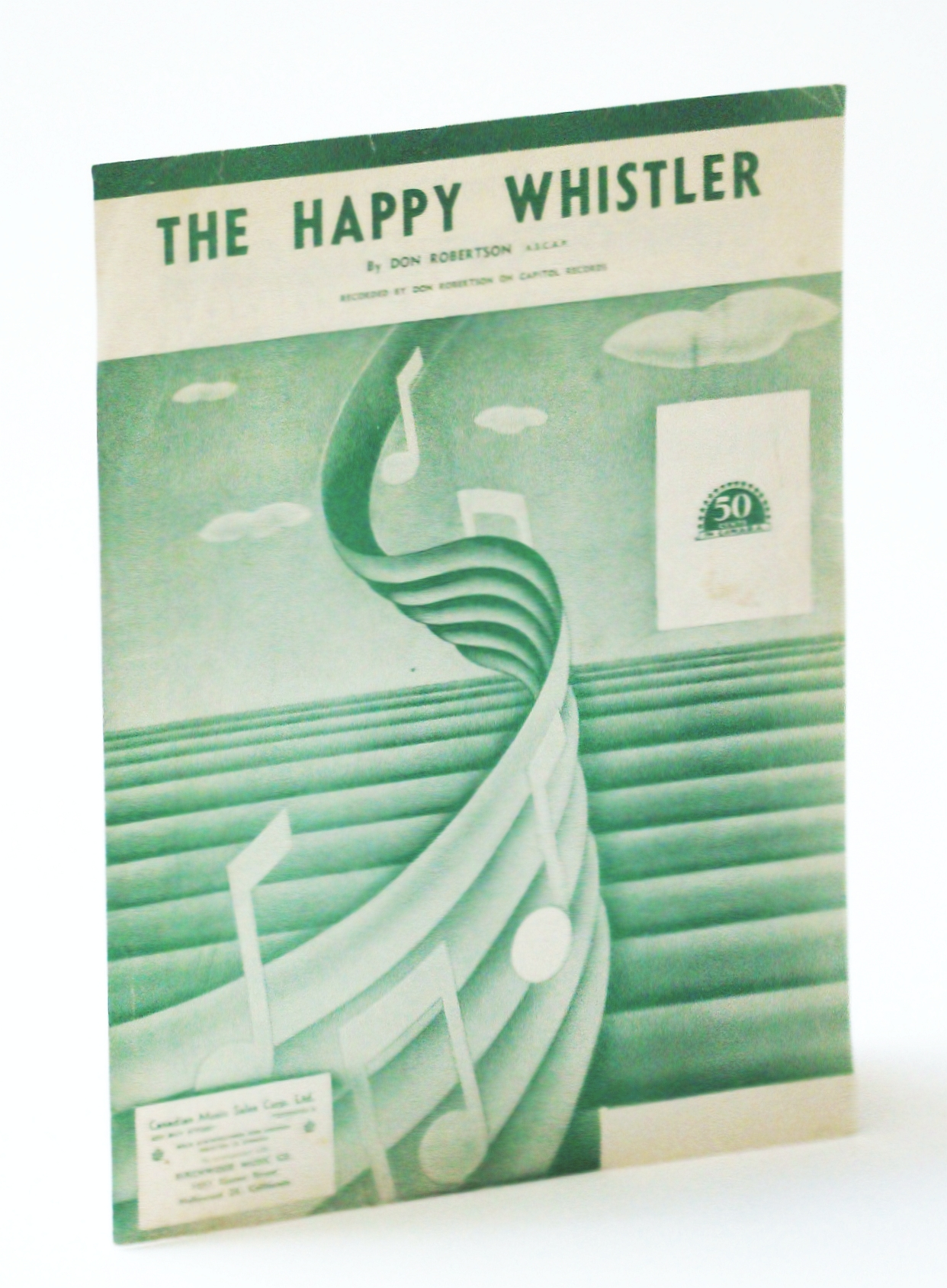Image for The Happy Whistler: Sheet Music for Piano