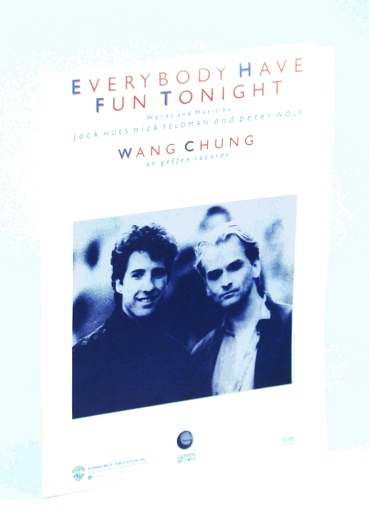 Image for Everybody Have Fun Tonight as recorded by Wang Chung