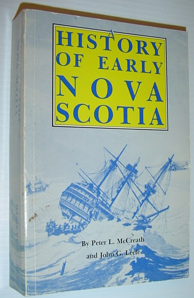 Image for A history of early Nova Scotia