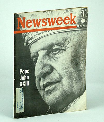 Image for Newsweek Magazine, June 10, 1963 - Pope John XXIII (23) Cover Photo