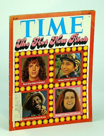 Image for Time Magazine (Canadian Edition), June 13, 1977: Cover Photos of Peter Frampton, Steve Cauthen, Famous Amos and Colleen McCullough