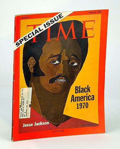 Image for Time Magazine (Canadian Edition), April (Apr.) 6, 1970 - Special Issue on Black America 1970 (with Cover Portrait of Jesse Jackson)