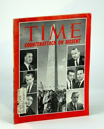 Image for Time Magazine (Canadian Edition) November (Nov.) 21, 1969 - Counterattack on Dissent