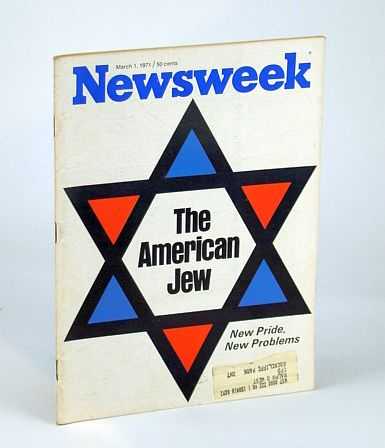 Image for Newsweek Magazine, March (Mar.) 1, 1971 - The American Jew