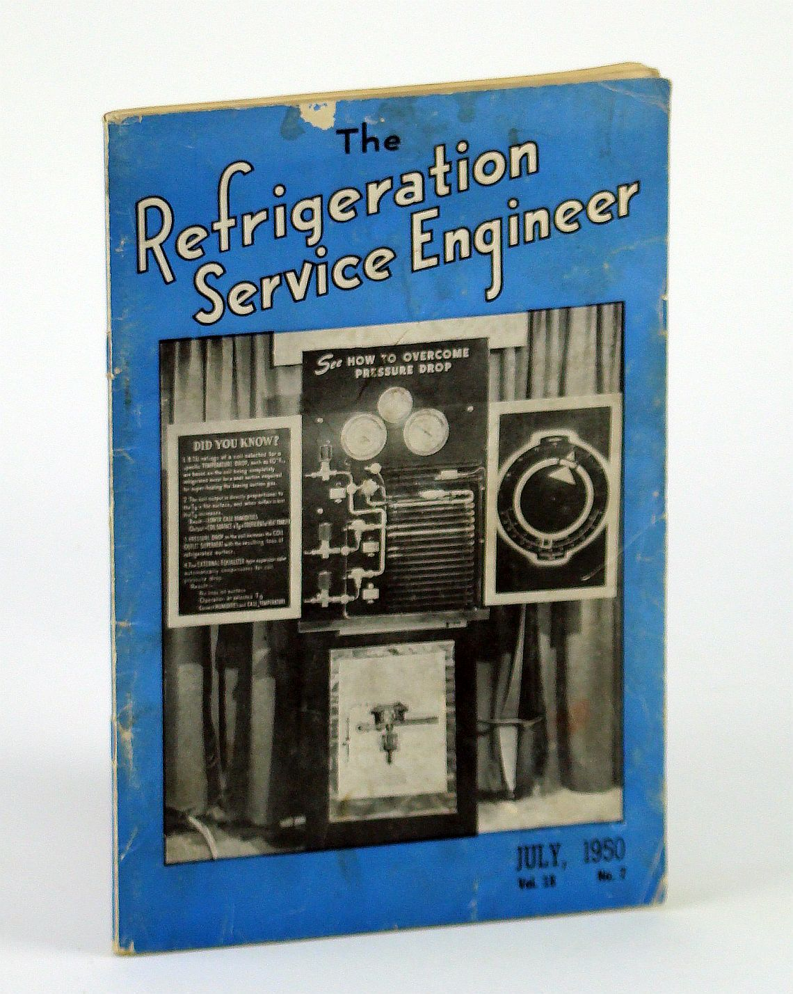 Image for The Refrigeration Service Engineer, July 1950, Volume 18, No. 7 - Newly Devised Drier-Graph