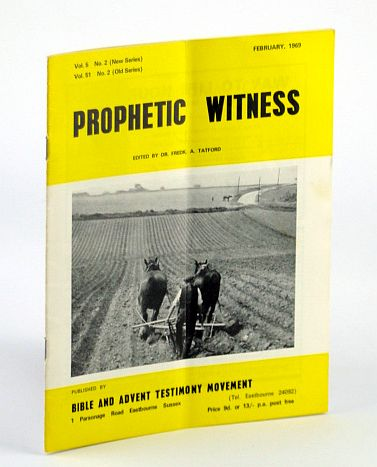 Image for Prophetic Witness, February (Feb.) 1969, Vol 5 No. 2 (New Series), Vol. 51 No. 2 (Old Series) - Richard Wurmbrand on the Communist World