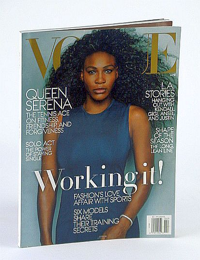Image for Vogue (US) Magazine, April (Apr.) 2015 - Serena Williams Cover