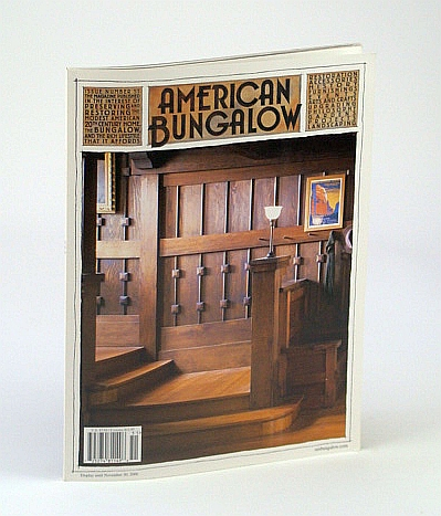 Image for American Bungalow Magazine, Fall 2006, Issue 51 - Cover Photo of Jane Powell's 1905 Craftsman Bungalow