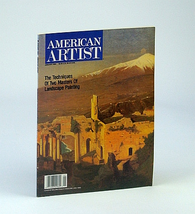 Image for American Artist Magazine, January 1994, Volume 58, Issue 618 - Landscape Masters Frederic Edwin Church and William Stanley Haseltine