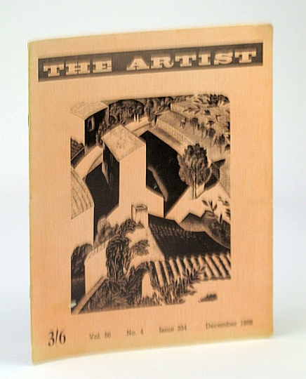 Image for The Artist (Magazine), December (Dec.) 1958, Vol. 56, No. 4, Issue 334