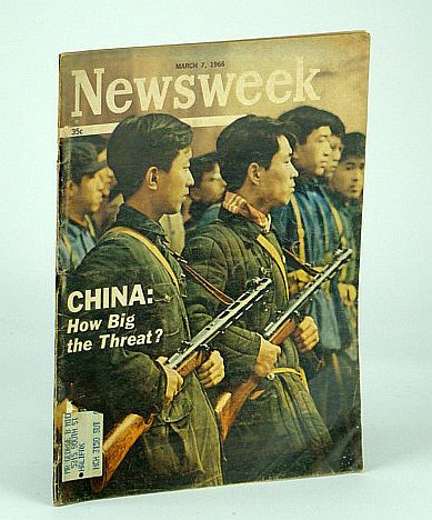 Image for Newsweek Magazine, August 7, 1966 - China Threat / Missing H-Bomb!