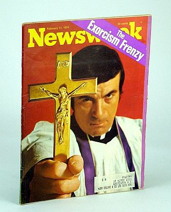 Image for Newsweek Magazine, February (Feb.), 1974 - The Exorcism Frenzy