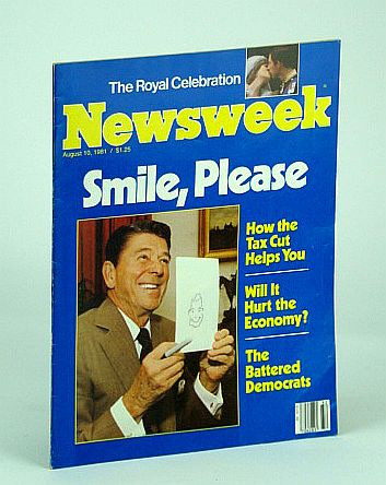 Image for Newsweek Magazine, August (Aug.) 10, 1981 - Ronald Reagan Cover Photo