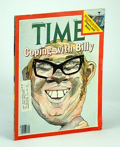Image for Time Magazine, Canadian Edition, August (Aug.) 4, 1980 - Billy Carter Cover Illustration