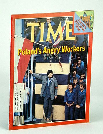 Image for Time Magazine (Canadian Edition), September (Sept.) 1, 1980 - Poland's Angry Workers