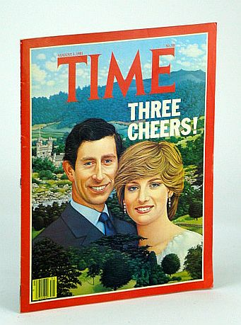 Image for Time Magazine (Canadian Edition), August (Aug.) 3, 1981 - Chuck and Di Cover Illustration