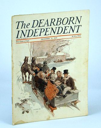 Image for The Dearborn Independent (Magazine) - Chronicler of the Neglected Truth, December (Dec.) 11, 1926 - Nice Christmas Content