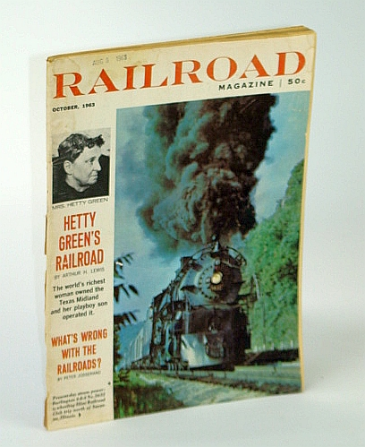 Image for Railroad Magazine, October (Oct.) 1963 - Water Towers Still Standing / Hetty Green's Railroad