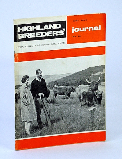 Image for Highland Breeders' Journal - Official Journal of the Highland Cattle Society, June 1975, No. 18