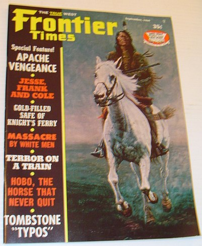 Image for Frontier Times Magazine: September, 1969