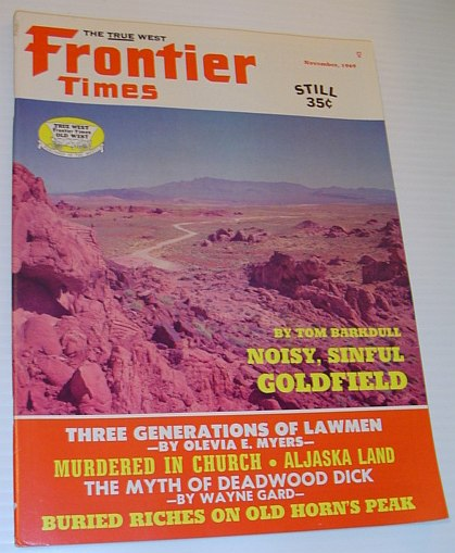 Image for Frontier Times Magazine: November, 1969