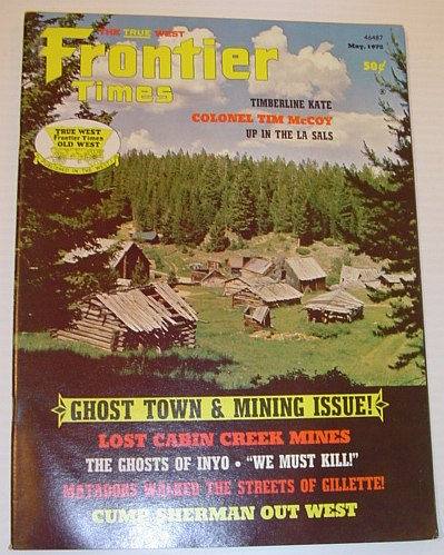 Image for Frontier Times Magazine: May, 1972