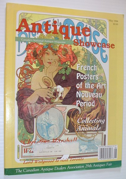 Image for Antique Showcase Magazine - Canada's National Antique Magazine: May 1998, Volume 33 Number 8