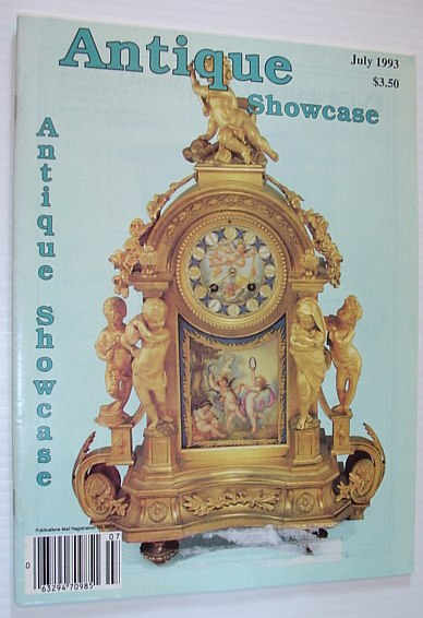 Image for Antique Showcase Magazine - Canada's Oldest Antique Magazine: July 1993, Volume 29 Number 1