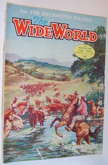 Image for The Wide World Magazine, August 1954, Australian Edition: The Galapagos Islands