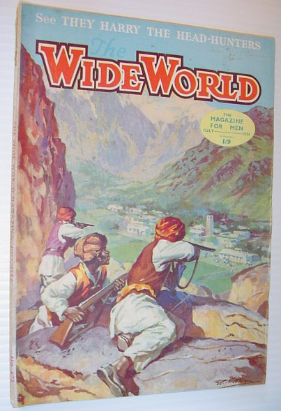 Image for The Wide World Magazine, July 1954, Australian Edition