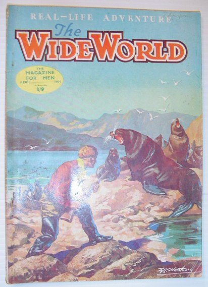Image for The Wide World Magazine, April 1954, Australian Edition