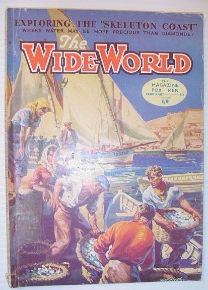 Image for The Wide World Magazine, February 1954 - Australian Edition
