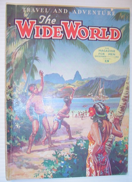 Image for The Wide World Magazine, December =1953 - Australian Edition