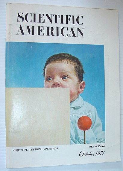 Image for Scientific American, October 1971, Volume 225 Number 4 -  Object-Perception Experiment