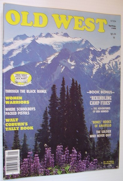 Image for Old West Magazine: Spring 1980