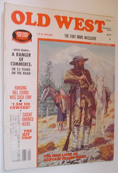 Image for Old West Magazine: Summer 1979