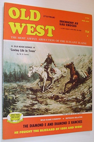Image for Old West Magazine: Fall, 1977