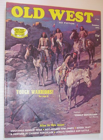 Image for Old West Magazine: Summer, 1975