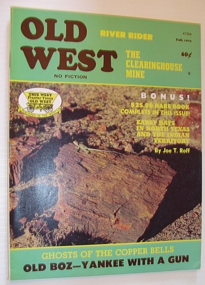 Image for Old West Magazine: Fall, 1974