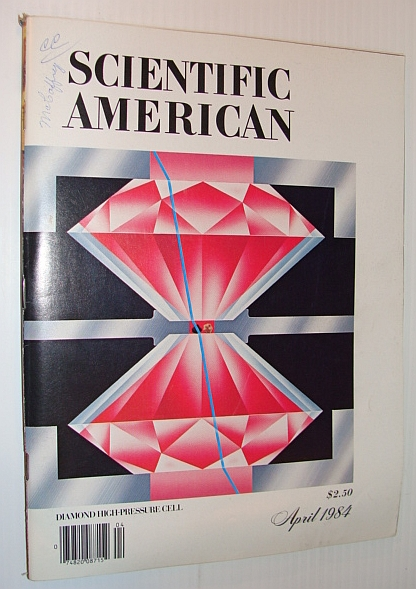 Image for Scientific American, April 1984 - Diamond High-Pressure Cell;