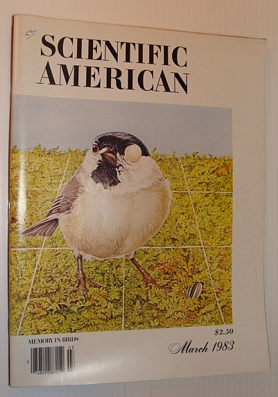 Image for Scientific American, March 1983 - Memory in Birds
