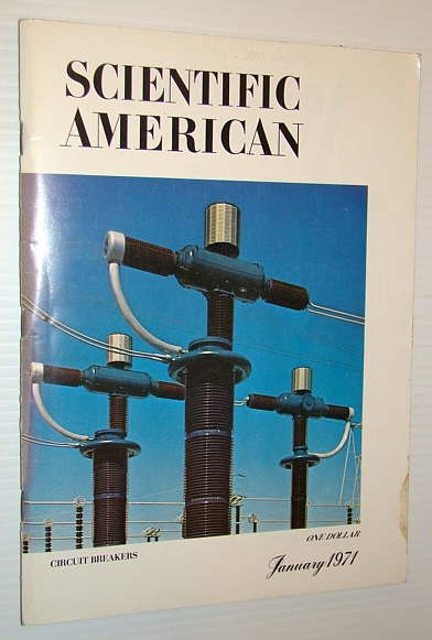 Image for Scientific American, January 1971, Volume 224 Number 1 - Circuit Breakers