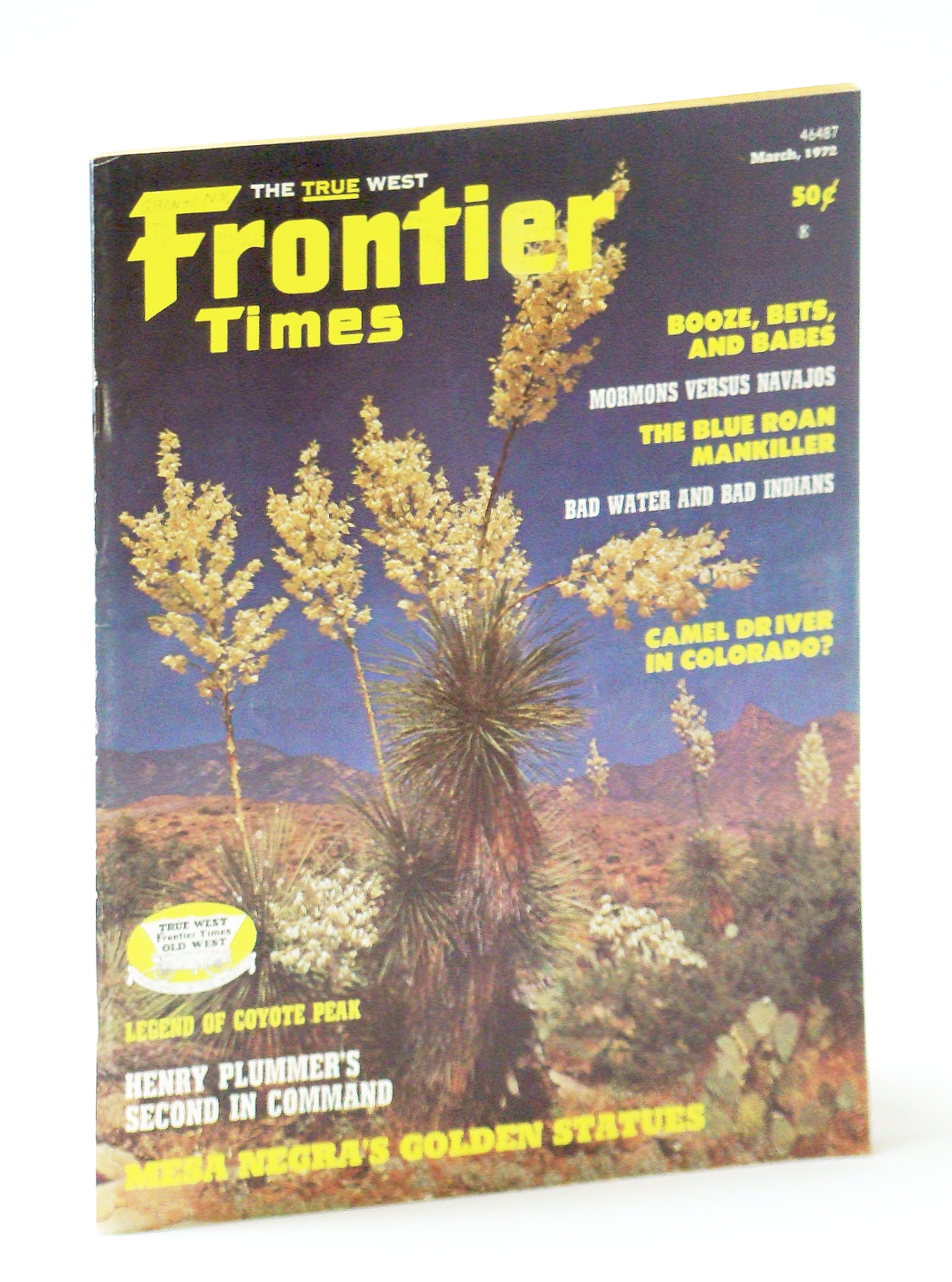 Image for Frontier Times Magazine: March, 1972