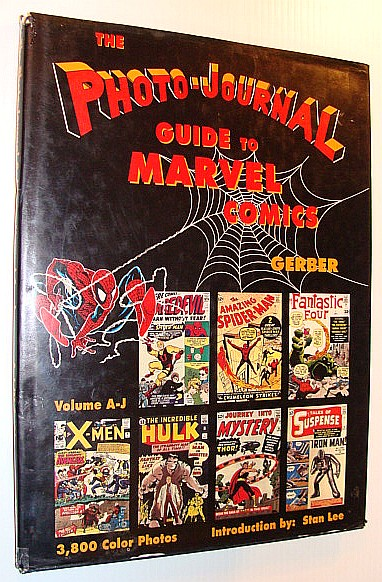 Image for Photo-Journal Guide to Marvel Comics Volume 3 (A-J)